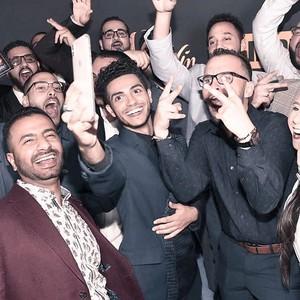 Mena Massoud and friends
