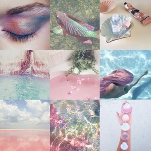 Mermaid Moodboard