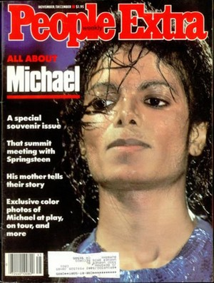 Michael Jackson On The Cover Of People Extra Weekly