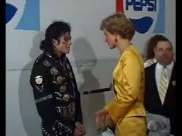 Michael Talking With Princess Diana