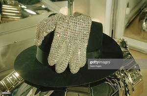 "Michael""s Trademark Hat And Glove"