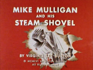 Mike Mulligan and his Steam Shovel titlecard