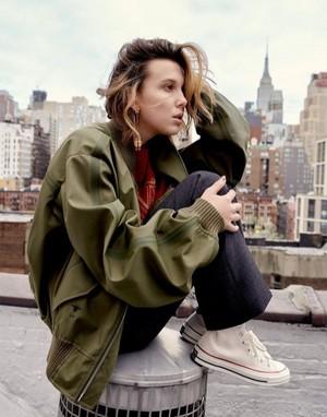 Millie Bobby Brown - Harper's Bazaar Photoshoot - 2019