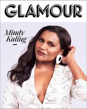 Mindy Kaling - Glamour Cover - 2019