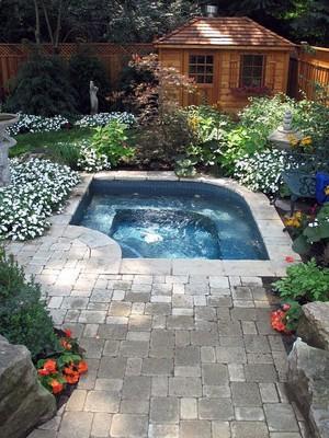Mini Pool Garden