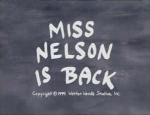 Miss Nelson Is Back titlecard