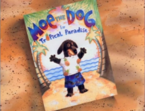 Moe the Dog in Tropical Paradise titlecard