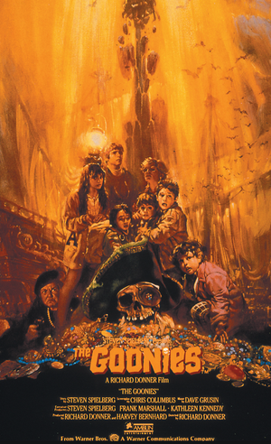 Movie Poster 1985 Film, The Goonies
