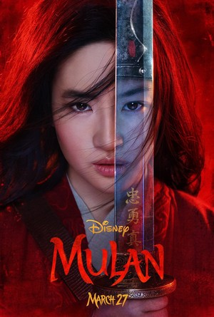 Live-Action Mulan official poster