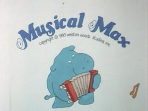Musical Max titlecard
