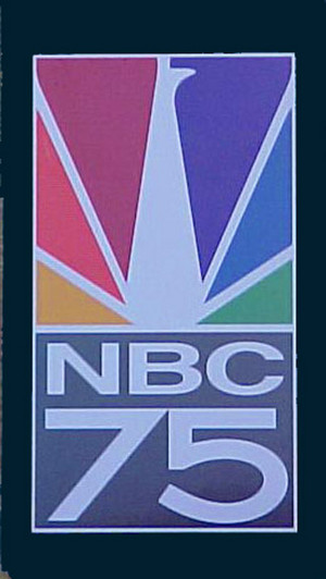NBC 75 Anniversary Logo