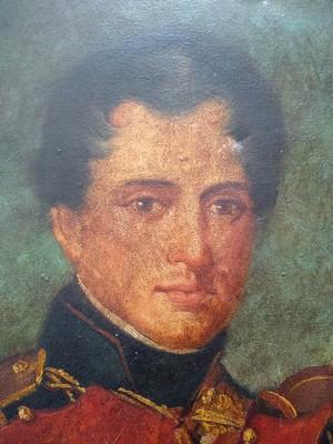 Napoleon Bonaparte part of a portrait