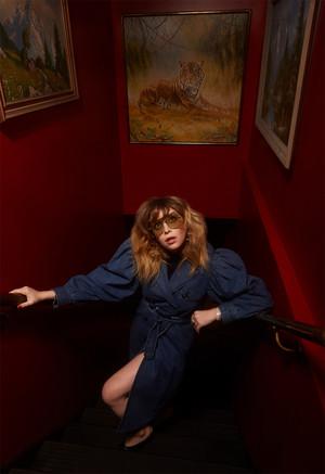 Natasha Lyonne - Backstage Photoshoot - 2019