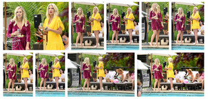 New BH90210 Pics on Set!