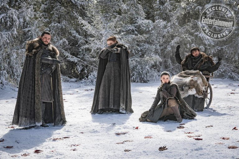 New behind-the-scenes season 8 photos from EW's post-finale 'GoT' issue
