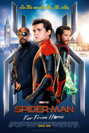 New poster for Spider-Man: Far From tahanan (2019)