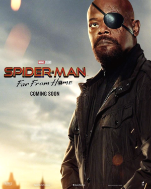 Nick Fury ~Spider-Man: Far From ホーム (2019) | Character Posters