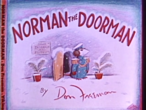 Norman the Doorman titlecard