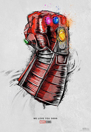 Official poster for the re-release of Avengers: Endgame this weekend