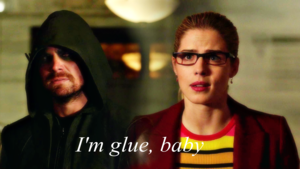 Oliver and Felicity wallpaper