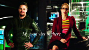 Oliver and Felicity achtergrond