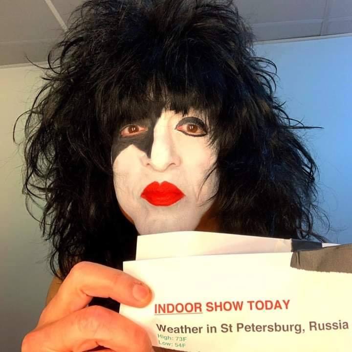 Paul ~Saint Petersburg, Russia...June 11, 2019 (ice Palace)
