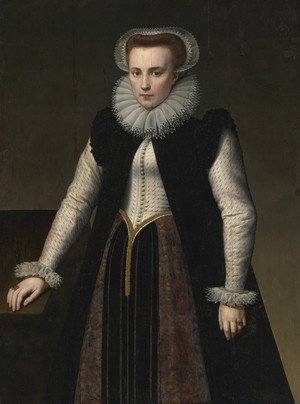 Portrait of a Lady (Supposedly Elizabeth Bathory)