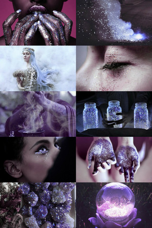 Purple Witch Aesthetic