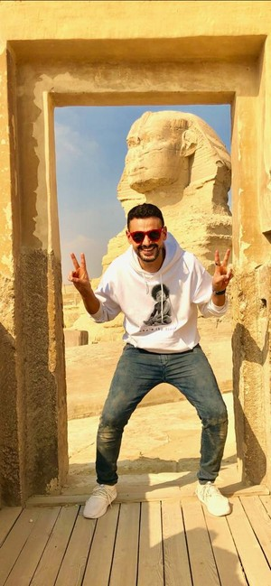 RAMEZ GALAL THE REAL EGYPT PEOPLE IN GIZA