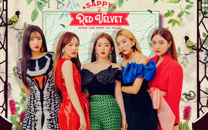 RED VELVET SAPPY 2 #WALLPAPER