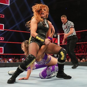 Raw 5/27/19 ~ Becky/Nikki cruzar, cruz vs The IIconics