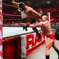 Raw 6/10/19 ~ 3-On-1 Handicap Lars Sullivan vs Lucha House Party - wwe photo