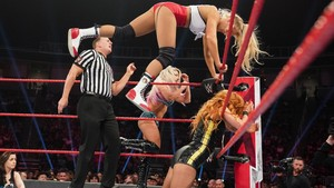 Raw 6/10/19 ~ Bayley/Becky Lynch vs Alexa Bliss/Lacey Evans