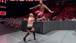 Raw 6/3/19 ~ Ricochet vs Cesaro