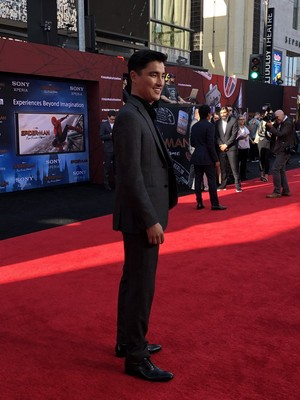 Remy Hii -Spider-Man: Far From halaman awal Premiere (June 26, 2019)