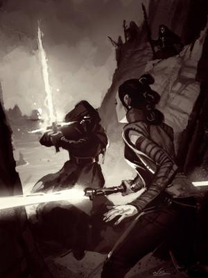 Rey vs Ren par natebaertsch