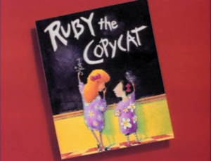 Ruby the Copycat titlecard