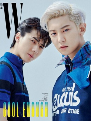 SEHUN and CHANYEOL for W Korea Magazine '19