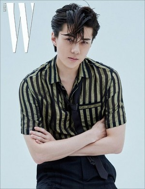 SEHUN for W Korea Magazine '19