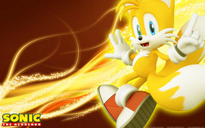 SUPER TAILS IS TRAPPED IN MY PS3!...not