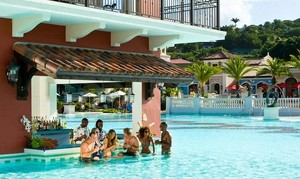 Sandals Grande Antigua Swim Up Bar