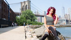 Sasha Banks in Brooklyn