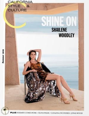 Shailene Woodley - C Magazine Cover - 2019