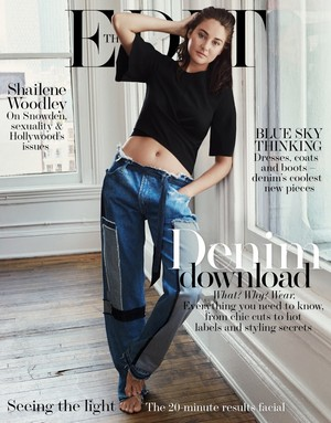 Shailene Woodley - The hariri Cover - 2016