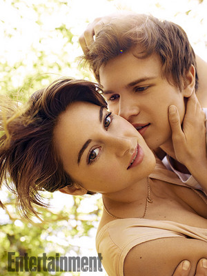 Shailene Woodley and Ansel Elgort - Entertainment Weekly Photoshoot - 2014