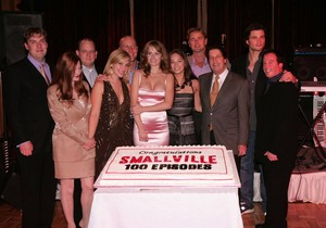 Smallville 100th Episode Party