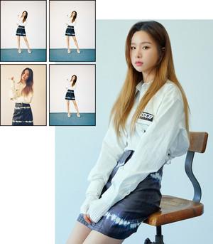 Solji for Nylon जापान 2019