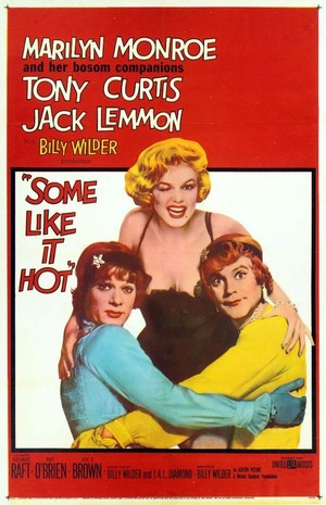'Some Like It Hot' film poster