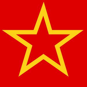 Soviet Red ngôi sao 2D
