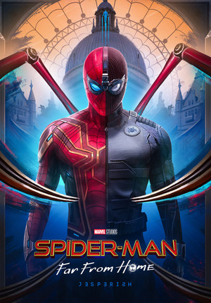 Spider-Man: Far From ホーム Posters - Created によって Jesper Abels